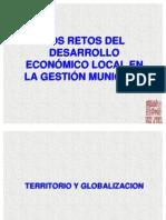 Retos Del Desarrollo Economico Social g.l.