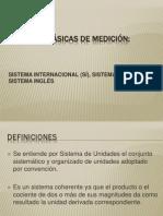 UNIDADES BÁSICAS DE MEDICIÓN