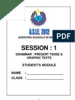 Student's Module - Session 1 Present Tense