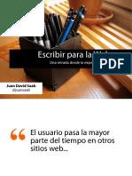 escribirparalawebunamiradadesdelaexperienciadeusuario-100924124432-phpapp01