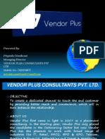 Vendor Plus Ppt