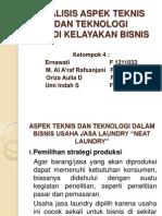 aspek teknis studi kelayakan bisnis
