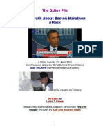 The Truth About Boston Marathon Attack - Part 1