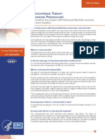 508 DBA Corticosteroid Therapy Fact Sheet