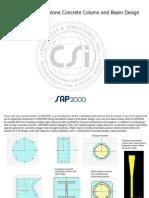Section Designer RC Column and Beam Design