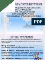 Modul 1 Manajemen Konstruksi