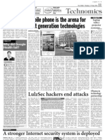 Why Did Google Health Fail - A Dose of IT - Asian Age - 27 June 2011 Page 11 - Kapil Khandelwal - EquNev Capital