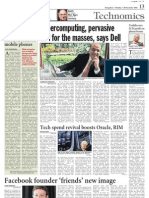 Virtual Mobile Phones - A Dose of IT - Deccan Chronicle - 20 Dec 2010 - Page 13 - Kapil Khandelwal - EquNev Capital