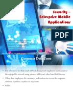 Enterprise Mobile Application Security