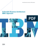 Approach to Actionable Business Architecture