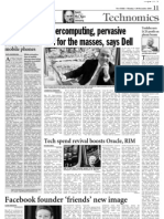 Virtual Mobile Phones -  A Dose of IT - Asian Age - 20 Dec 2010 - Page 11 - Kapil Khandelwal - EquNev Capital