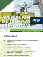 Aplicacion de Tecnicas Preventivas 2009