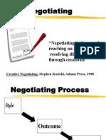 Negotiation ppt