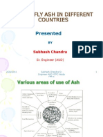Use of Fly Ash in Different Countries