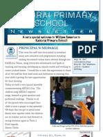 April 19 Newsletter 2013