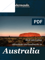 Landmarks and attractions in Australia