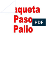 Paso Palio