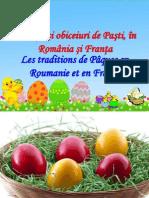Traditii de Pasti in Romania Si in Franta