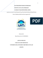 Laporan Praktikum Ekologi Perairan