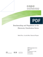 Benchmarking and Regulation