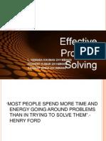 Problem Solprving