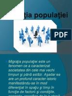 Migratia Populatiei in RM