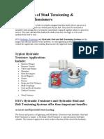 Advantages of Stud Tensioning.doc