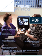 Speech & Language Therapy in Practice, Spring 2009