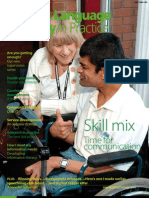 Speech & Language Therapy in Practice, Spring 2008