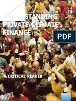 Understanding Private Climate FInance