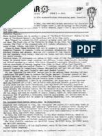 Dark Star Traveller Fanzine issues 2-5 1981