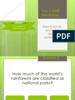 rainforests quiz game - yr 8 sose