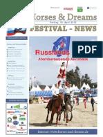 Horses & Dreams meets Russia Turnierzeitung Freitag