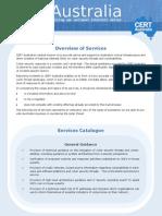 CERT Australia Services