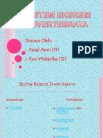 Sistem Ekskresi Pada Avertebrata