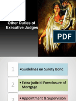 Other Functions-Exec Judges