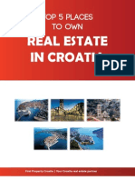 Top 5 Places to Own Real Estate in Croatia