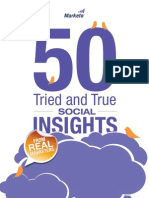 50 Tried and True Social Insights From Marketers