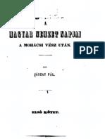 Jászay Pál - A Magyar nemzet napjai a mohácsi vész után 1.kötet 1846.