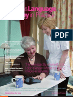 Speech & Language Therapy in Practice, Summer 2007