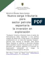 Boletin 69_carga Tri but Aria Para Sector Petrolero Espanta