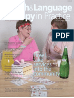 Speech & Language Therapy in Practice, Autumn 2006
