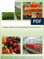 Synopsis & TOC - Global Horticulture Industry 2012