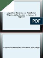 Aulas 05 e 06_Filologia Romanica II