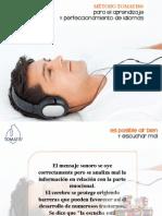 Perfecciona tus idiomas con el Método Tomatis (El rol del oído en el proceso de aprendizaje)