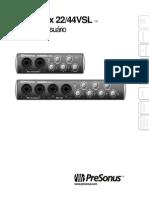 AudioBox22-44VSL OwnersManual PO