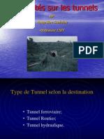 1 Tunnels