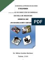 MODULO DE INVESTIGACIÓN CIENTÍFICA