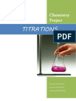Titration Project Report