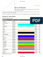 HTML Color Names